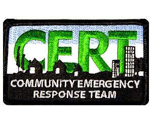 C.E.R.T. Embroidered Patch