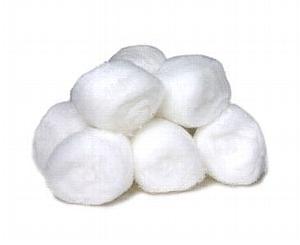 Non Sterile Cotton Balls Bag of 300