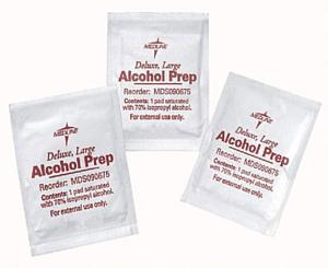 Alcohol Prep Pads, 10 pcs/box