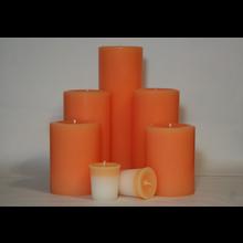 9 Inch Peach Pillar