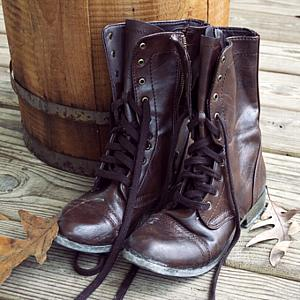 Leather Boots 8.5