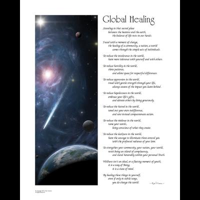 Art: Global Healing - Blue Edition